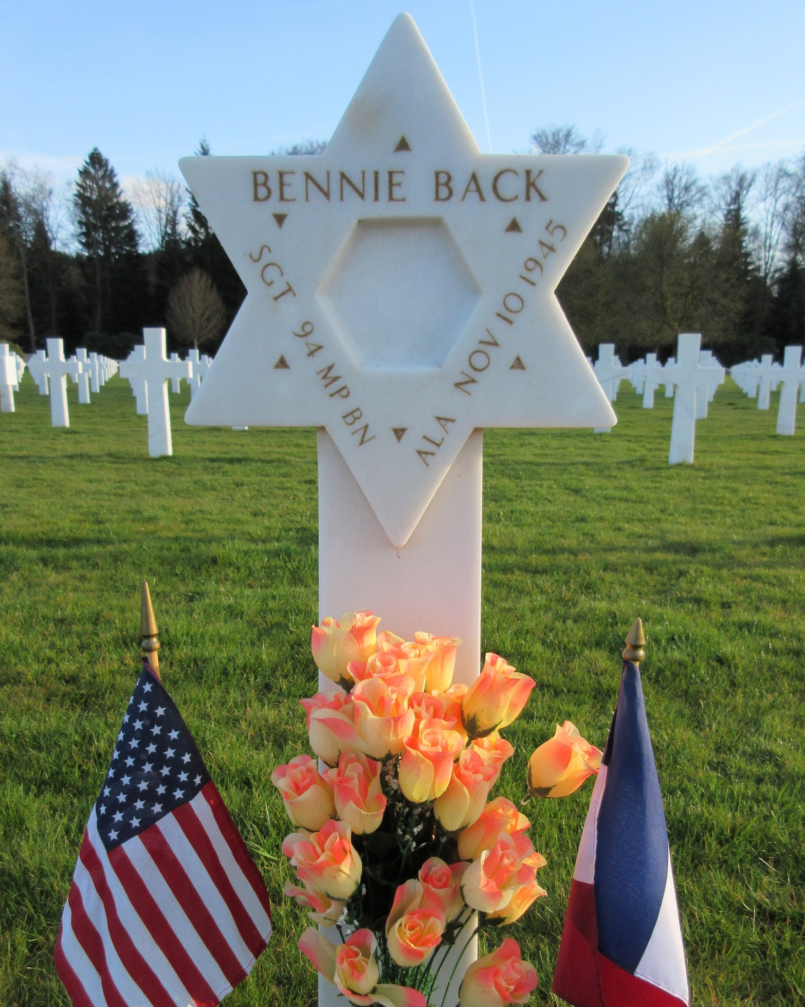 Sergeant Bennie Back   United States Army Military Police Corps, U.S. Government