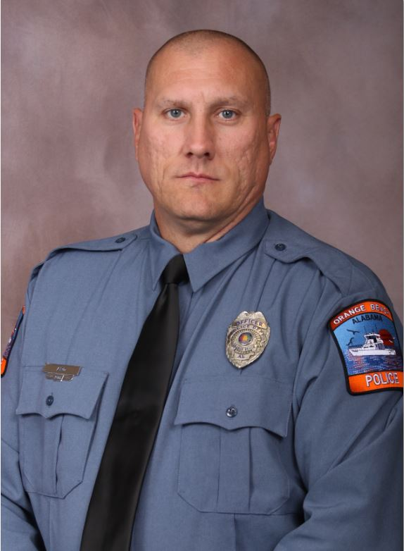 Police Officer Brandon Ard   Orange Beach Police Department, Alabama