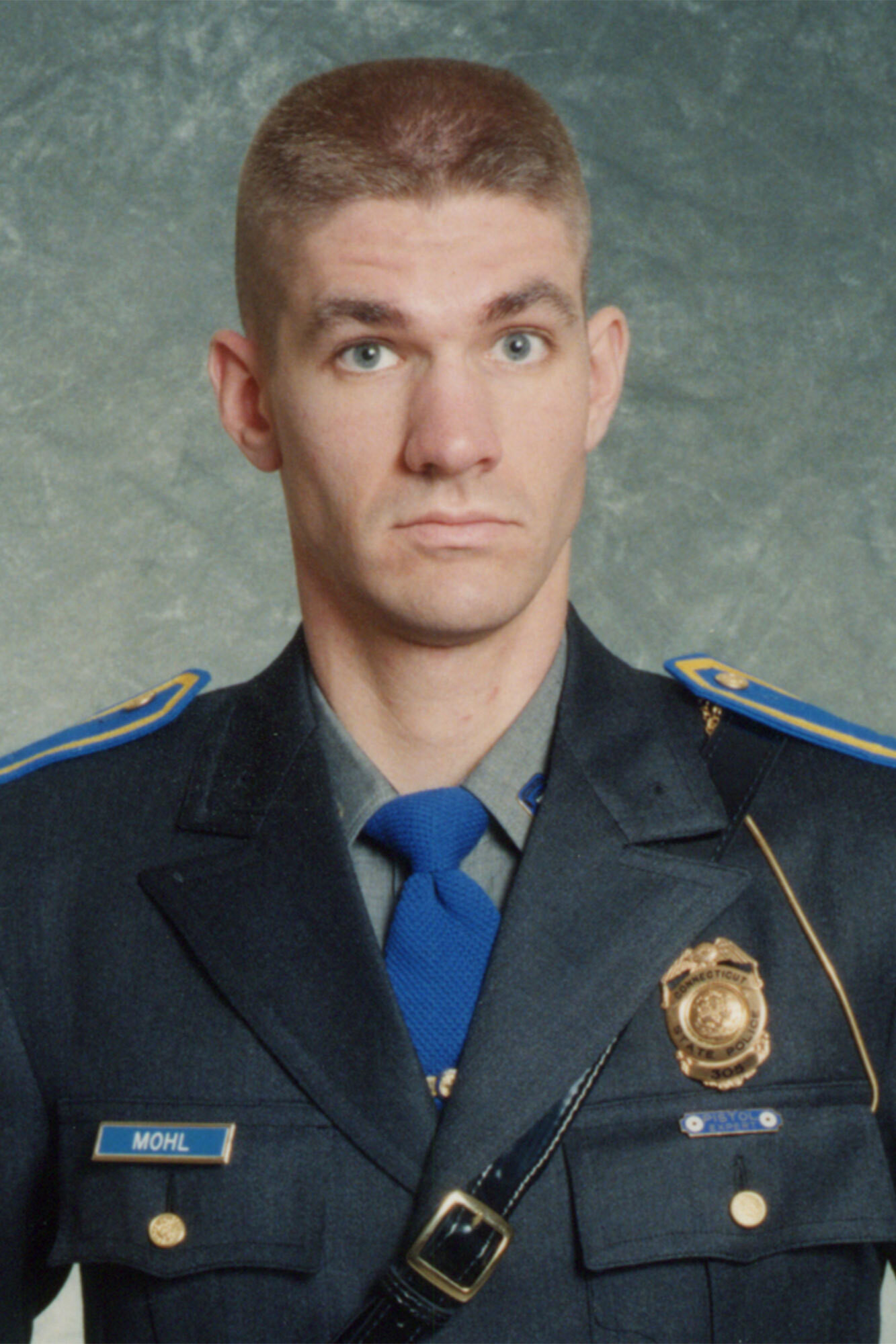 Sergeant Brian Mohl   Connecticut State Police, Connecticut