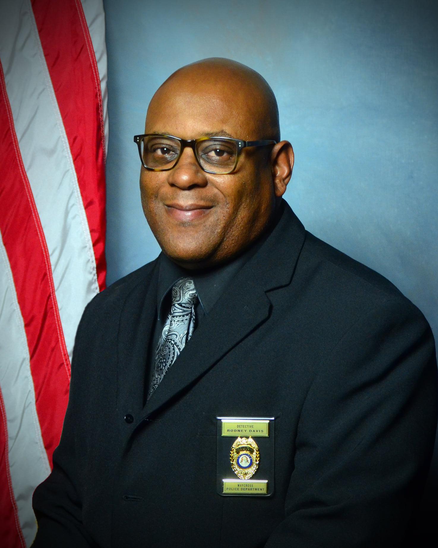 Detective Rodney L. Davis, Sr.   Waycross Police Department, Georgia