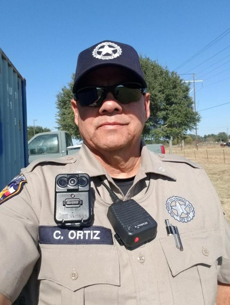 Deputy Sheriff Carlos David Ortiz   Colorado County Sheriff's Office, Texas