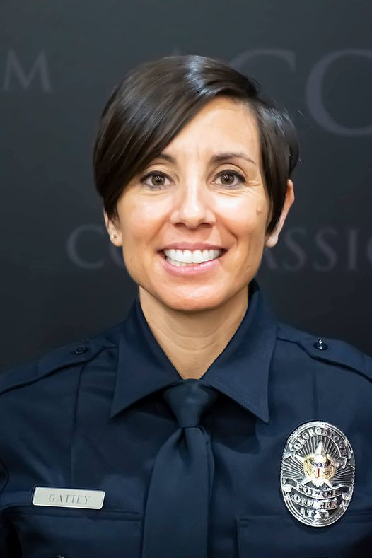 Police Officer Michelle Gattey   Georgetown Police Department, Texas