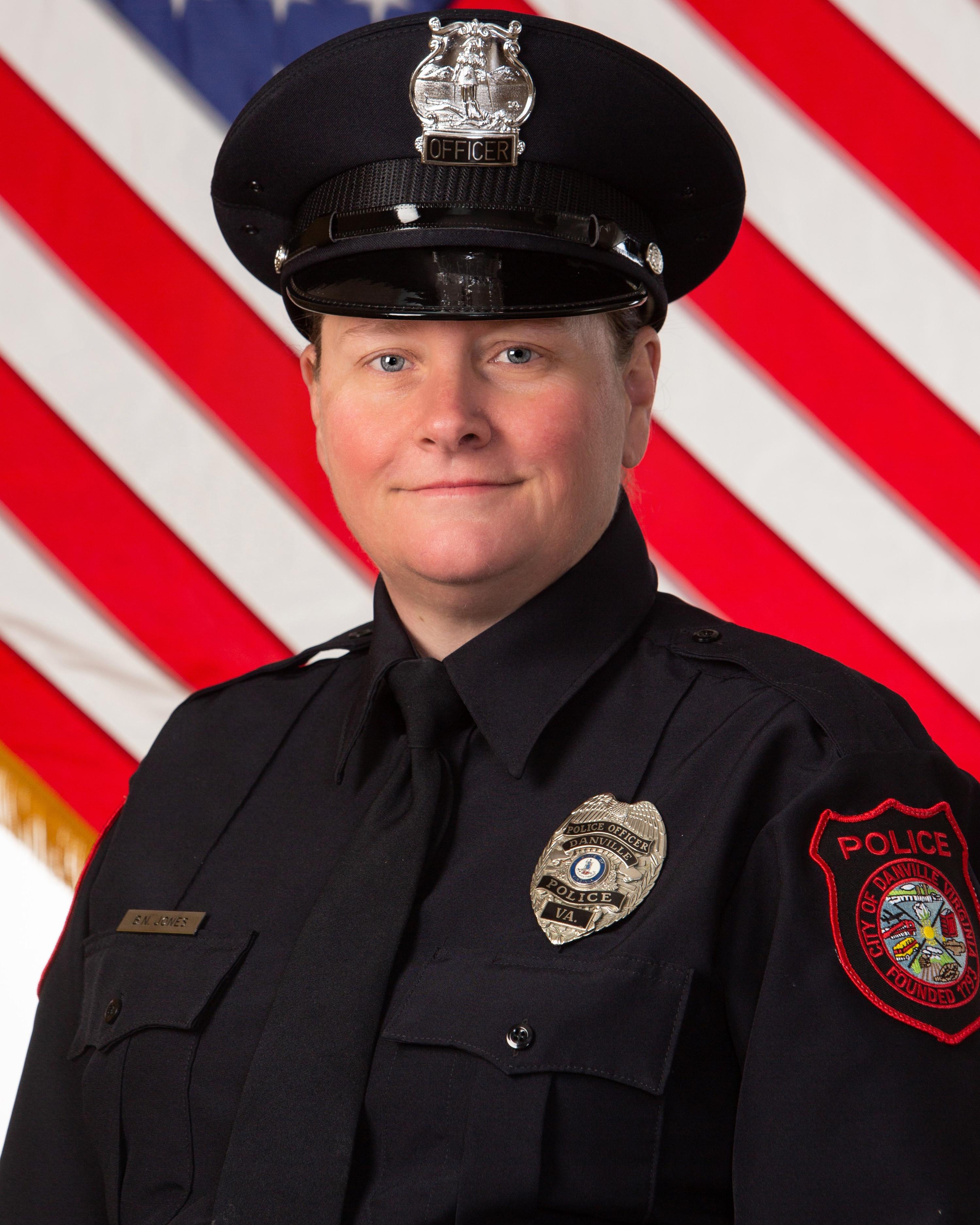 Police Officer Bonnie  Nicole Jones | Danville Police Department, Virginia