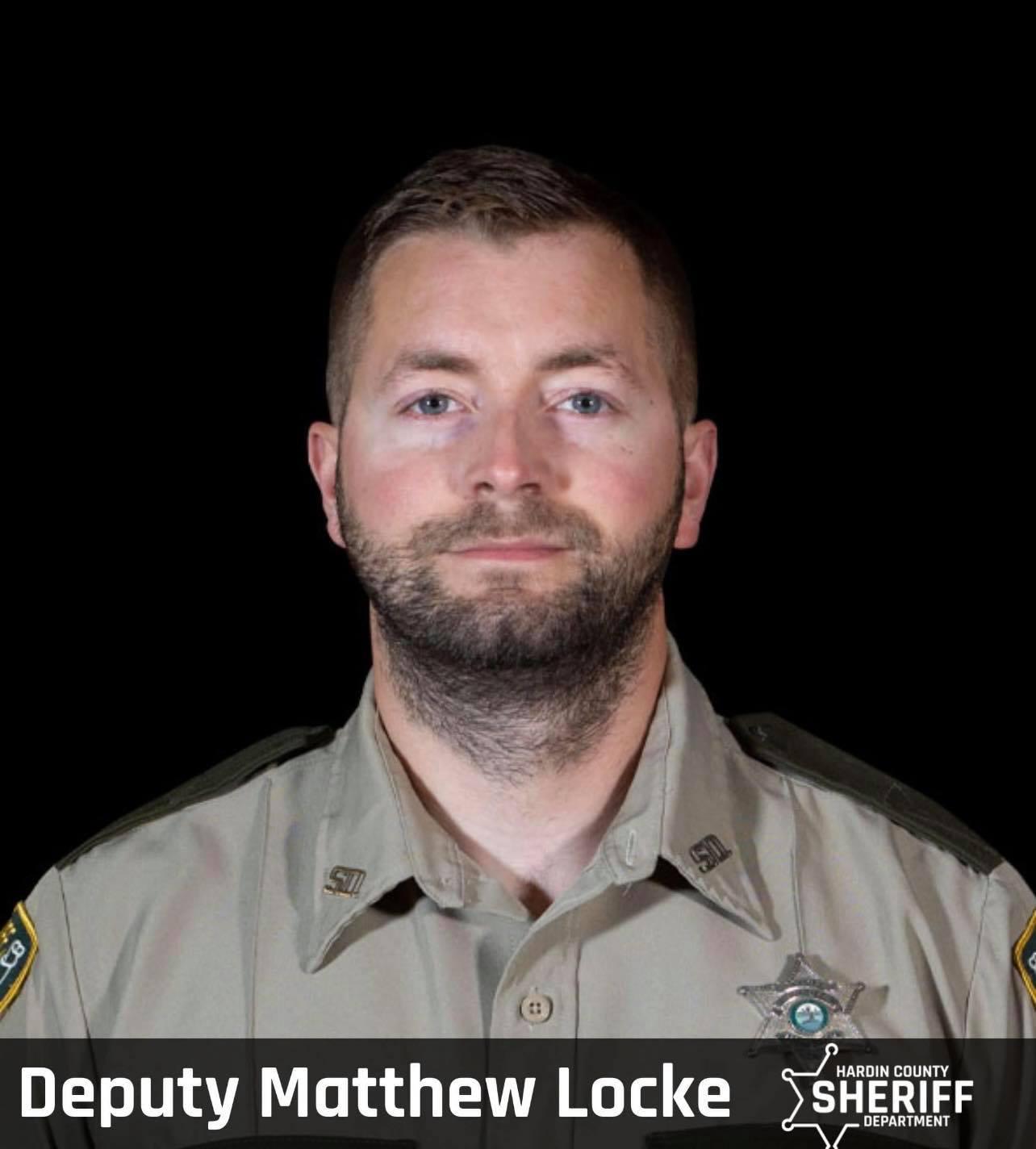Deputy Sheriff Matthew Locke   Hardin County Sheriff's Department, Tennessee