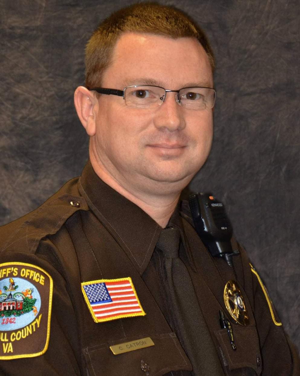 Corporal Charles Wayne Catron   Carroll County Sheriff's Office, Virginia