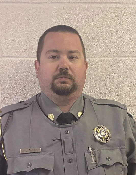 Sergeant Logan Davis   Iron County Sheriff's Office, Missouri