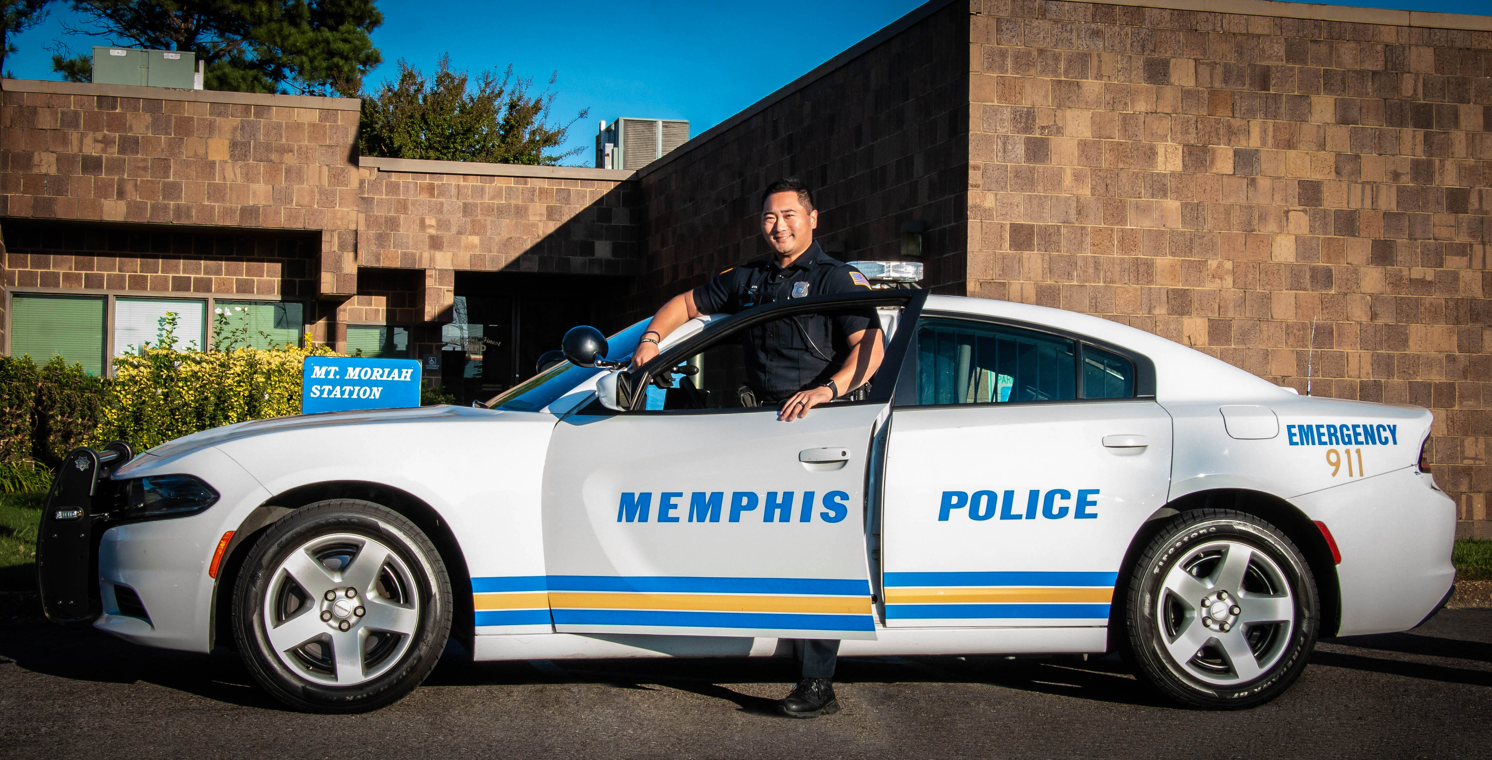 Police Officer Jimmie Alexander Shindler   Memphis Police Department, Tennessee