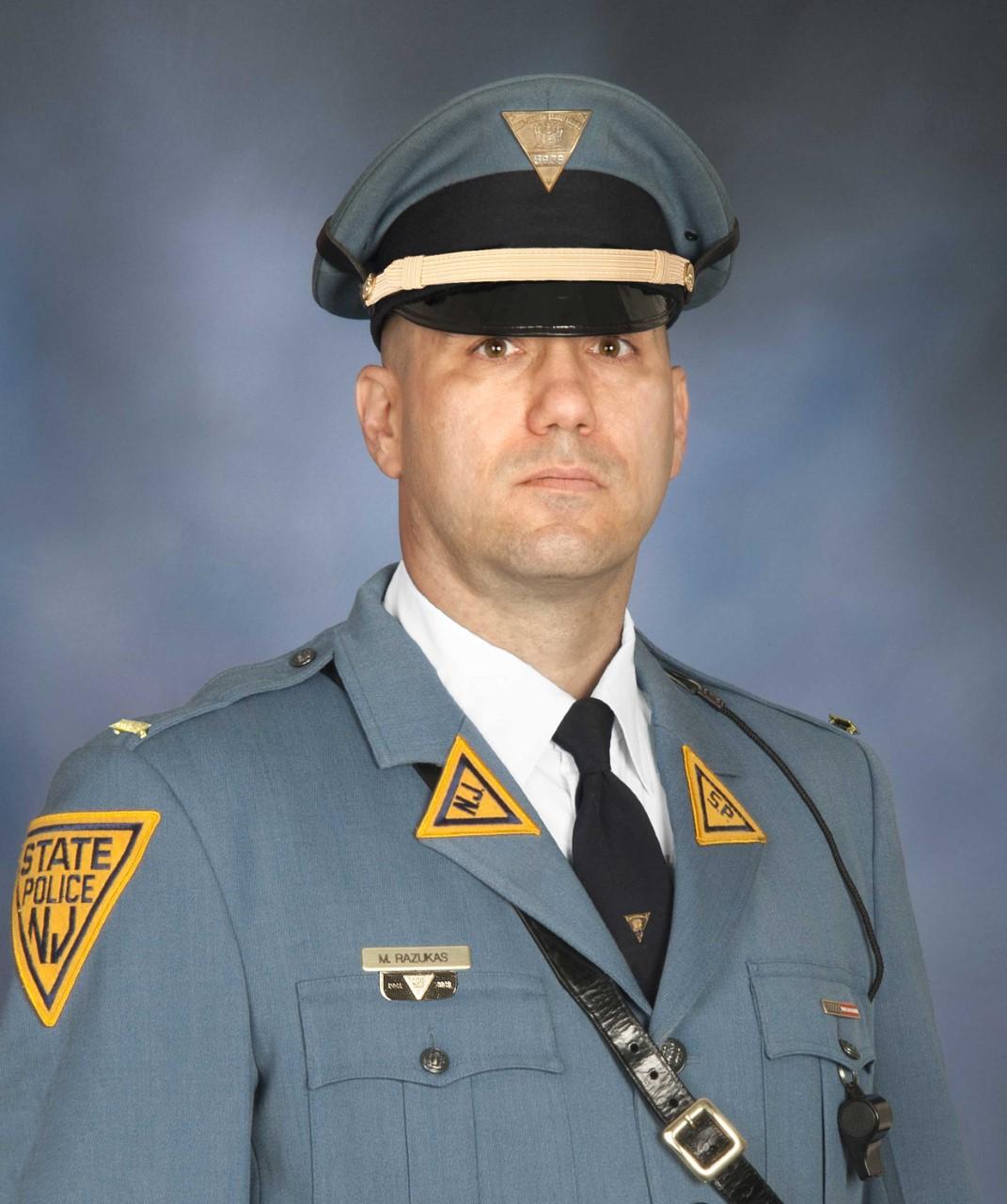 Lieutenant Matthew D. Razukas   New Jersey State Police, New Jersey