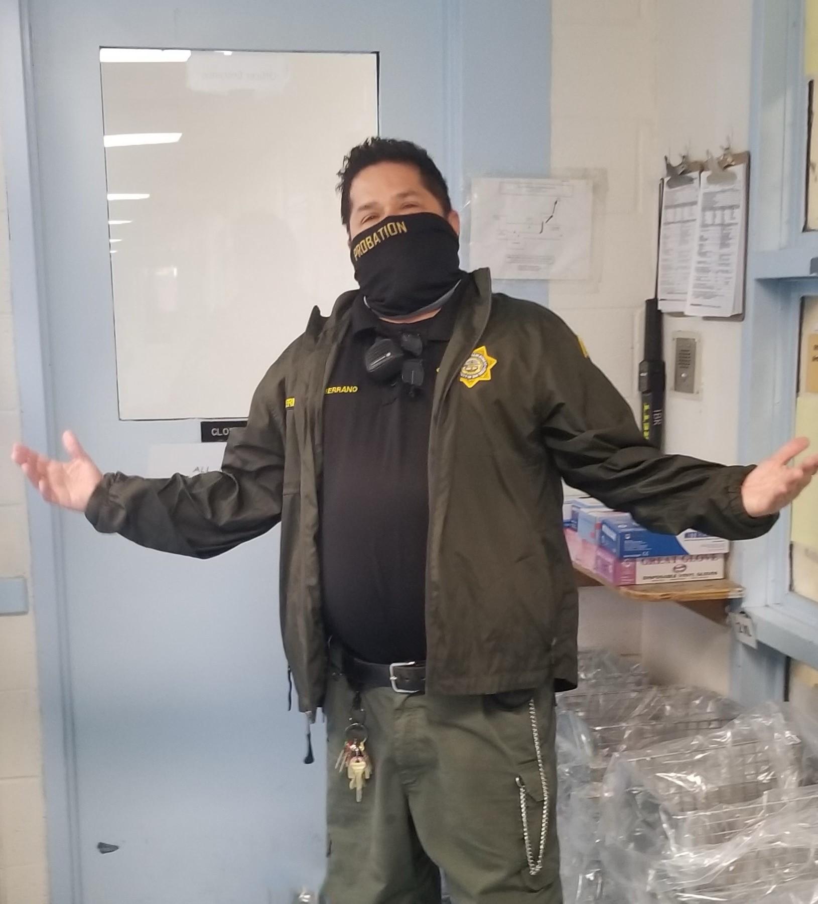 Corrections Deputy II Ralph Edward Serrano   San Diego County Probation Department, California