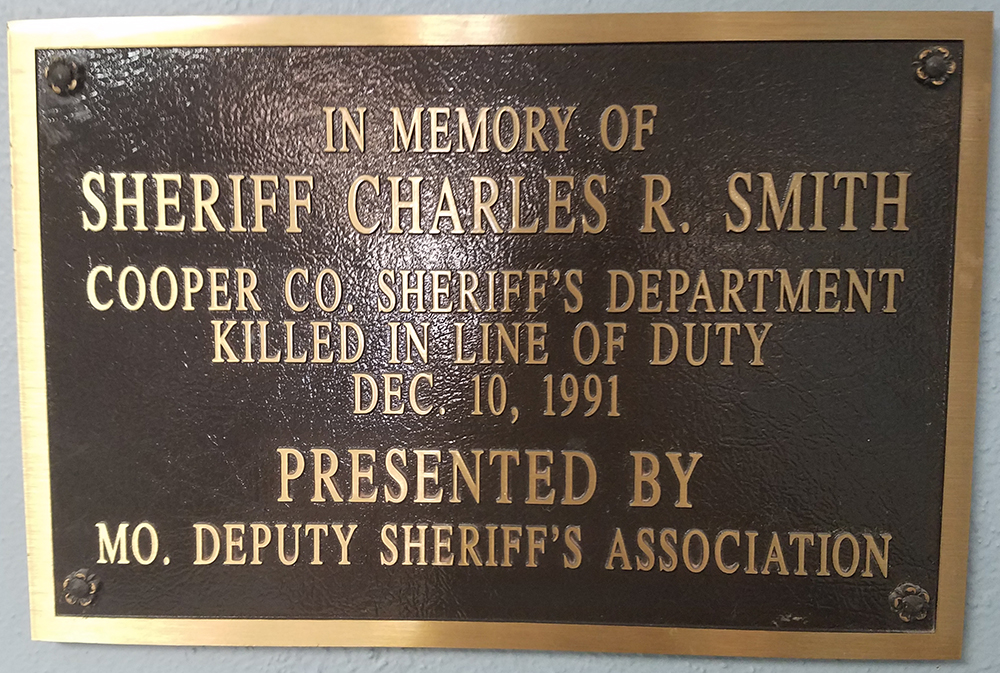 Sheriff Charles R. Smith | Cooper County Sheriff's Office, Missouri