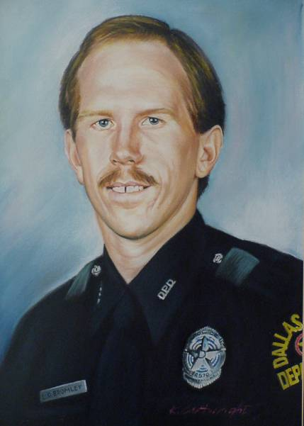 Senior Corporal Lawrence David Bromley | Dallas Police Department, Texas