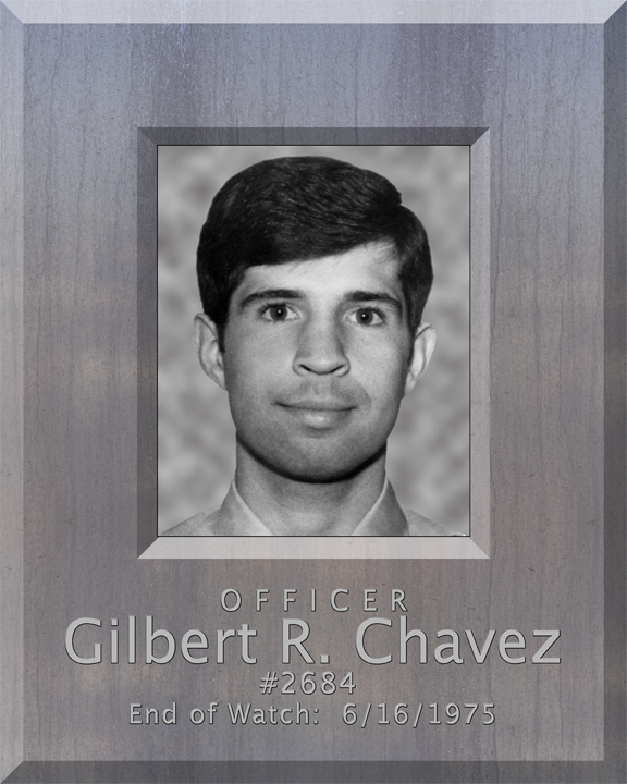 Officer Gilbert Richard Chavez | Phoenix Police Department, Arizona
