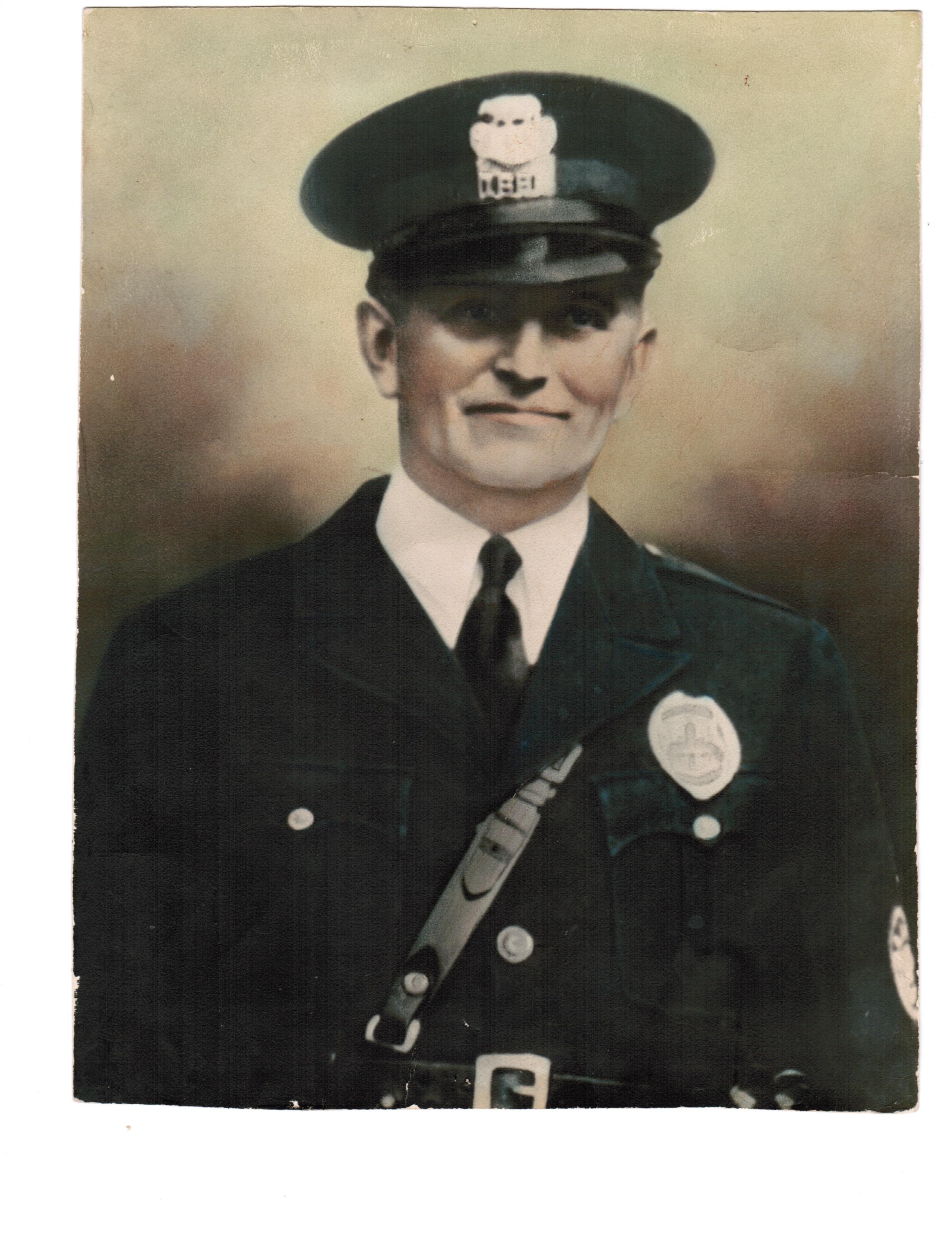 Policeman George Robert Colvin | Los Angeles Police Department, California