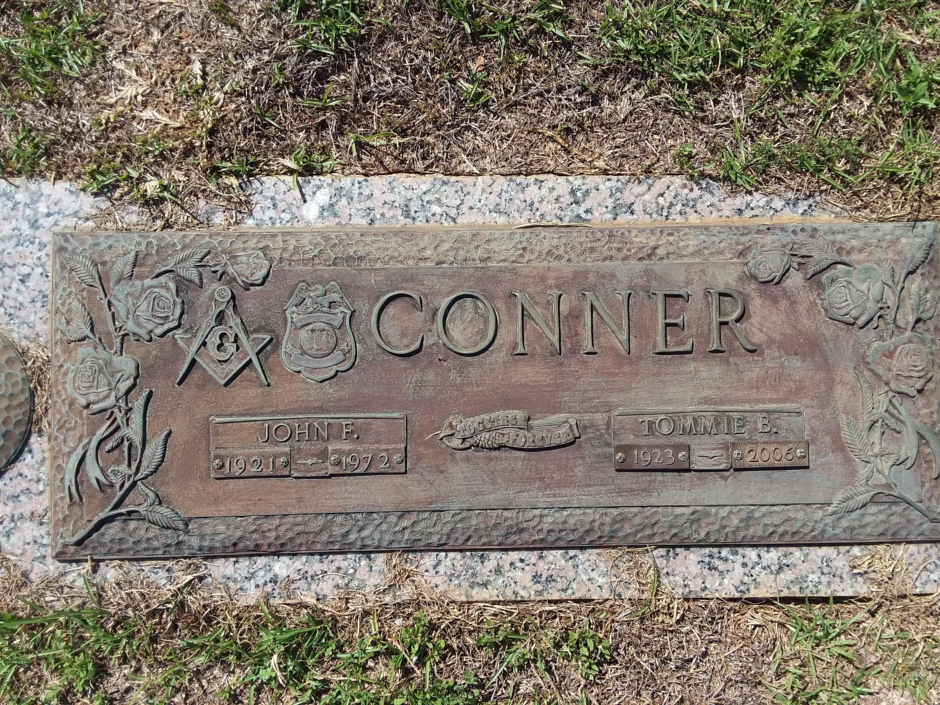Sergeant John Franklin Conner, Sr.   Cochran Police Department, Georgia