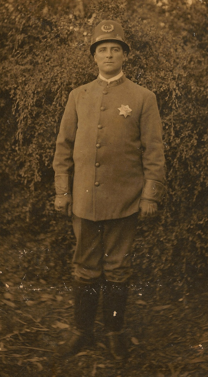 Corporal Frederick Holmes Cook | San Francisco Police Department, California
