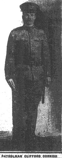 Substitute Patrolman Clifford L. Cornish | Cincinnati Police Department, Ohio