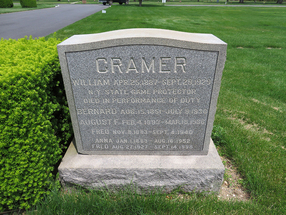 Game Protector William T. Cramer | New York State Environmental Conservation Police, New York