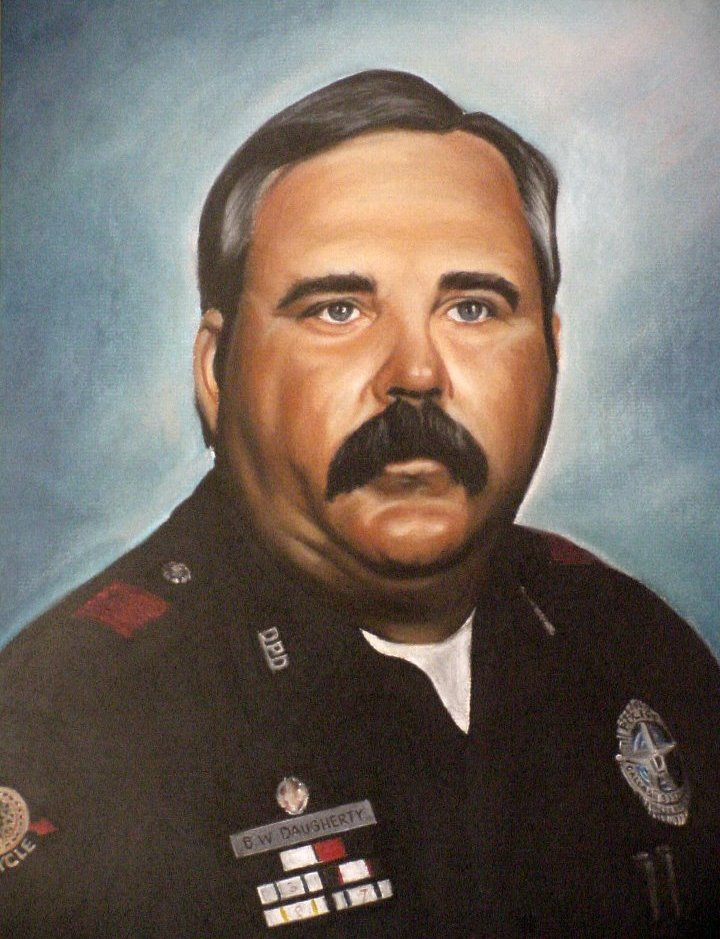 Senior Corporal Billy Walter Daugherty | Dallas Police Department, Texas