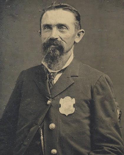 Station Keeper Henry Deering   Cincinnati Police Department, Ohio