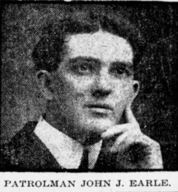 Patrolman John J. Earle | Boston Police Department, Massachusetts