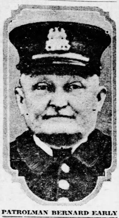 Police Officer Bernard Early   St. Louis Metropolitan Police Department, Missouri