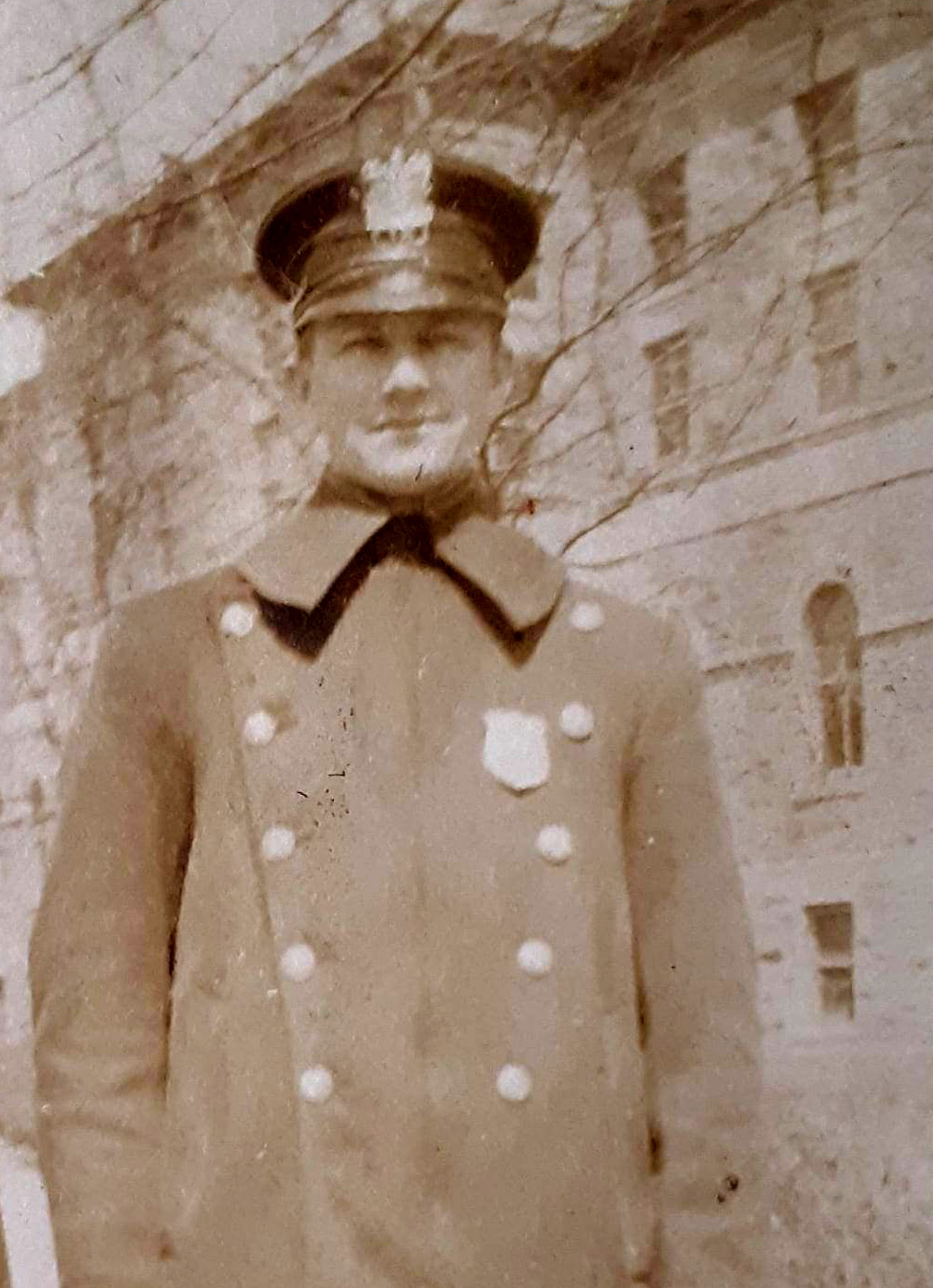 Patrolman Herman Kohler Emmons   Long Branch Police Department, New Jersey