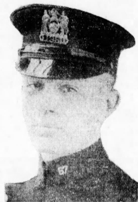 Patrolman Henry J. Farrell | New York City Police Department, New York