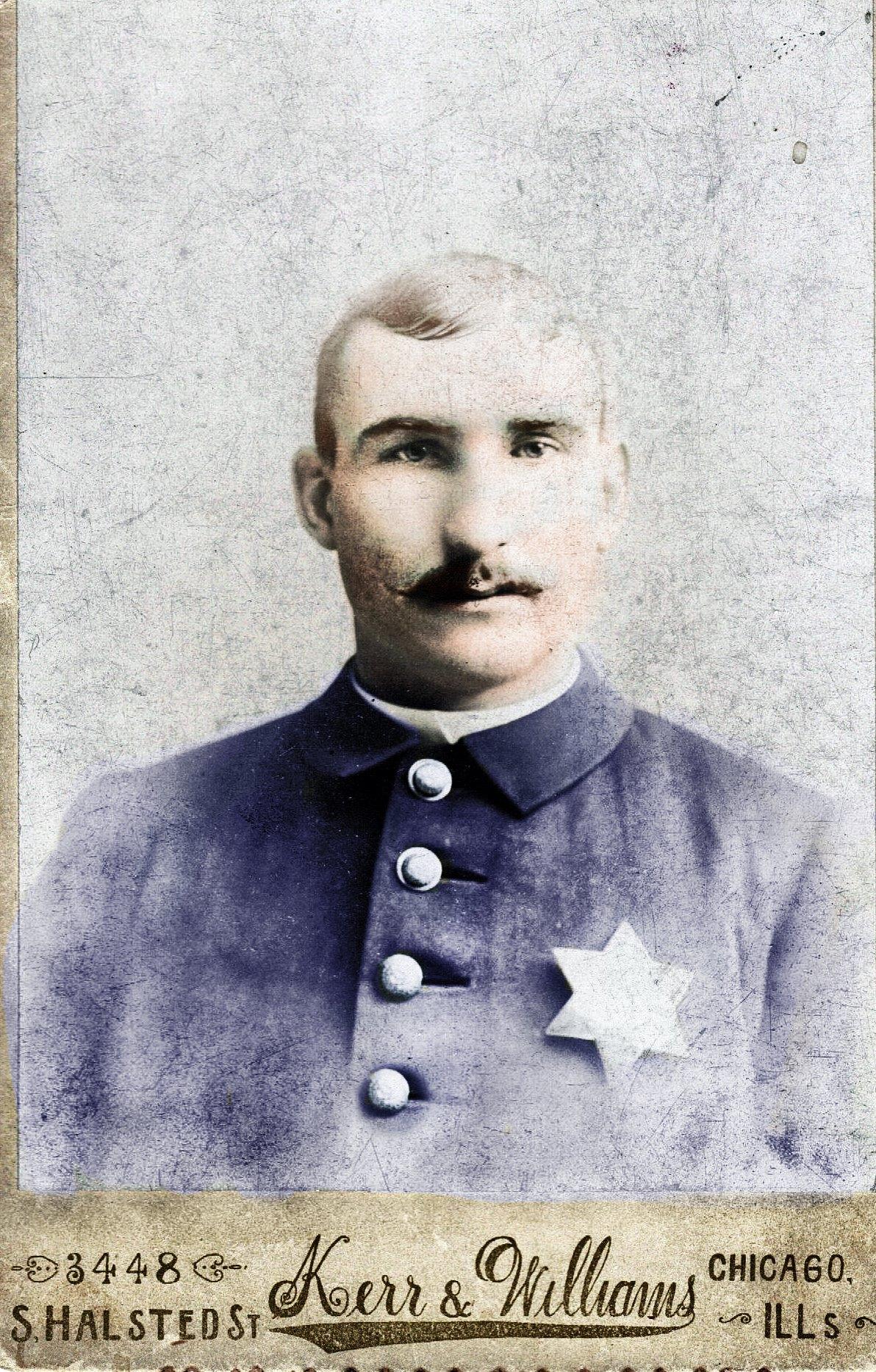 Patrolman Luke John Fitzpatrick   Chicago Police Department, Illinois