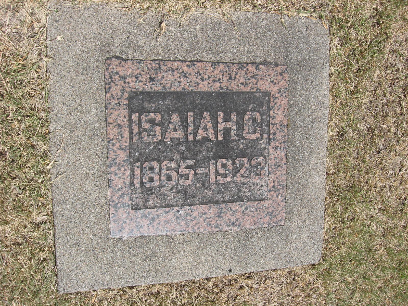 Sheriff Isaiah C.