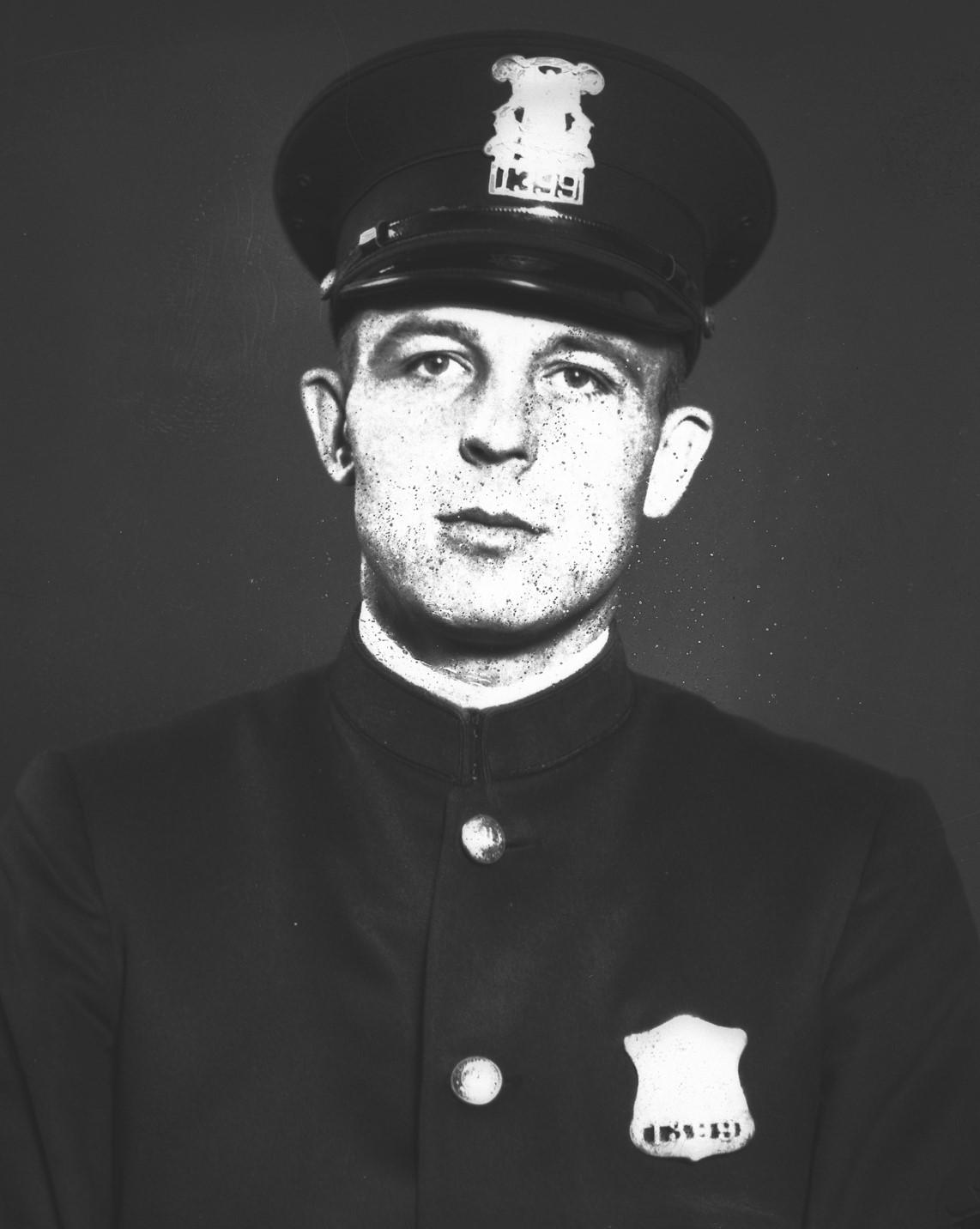 Police Officer William M. Gratton | Detroit Police Department, Michigan