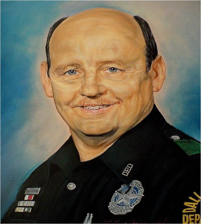Senior Corporal Richard A. Lawrence | Dallas Police Department, Texas