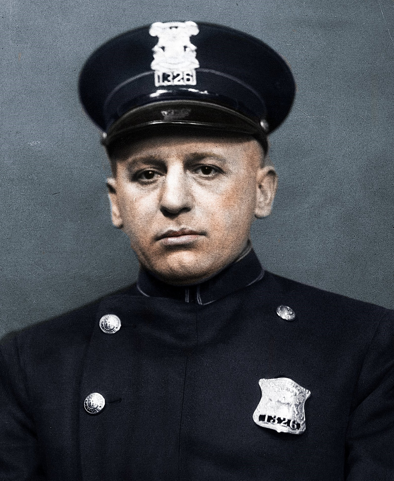 Police Officer William Frederick Hackenbruch | Detroit Police Department, Michigan
