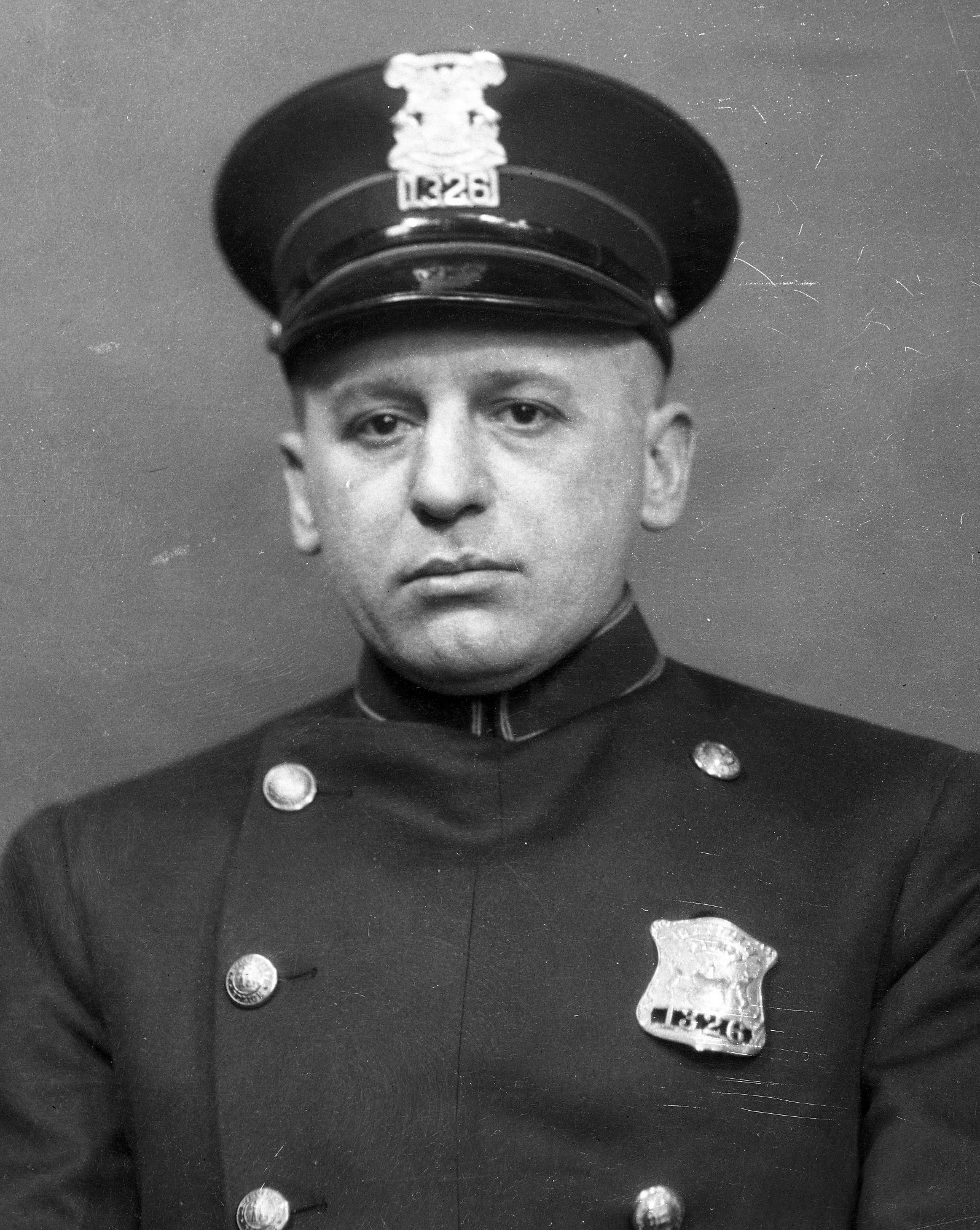 Police Officer William F. Hackenbruch | Detroit Police Department, Michigan