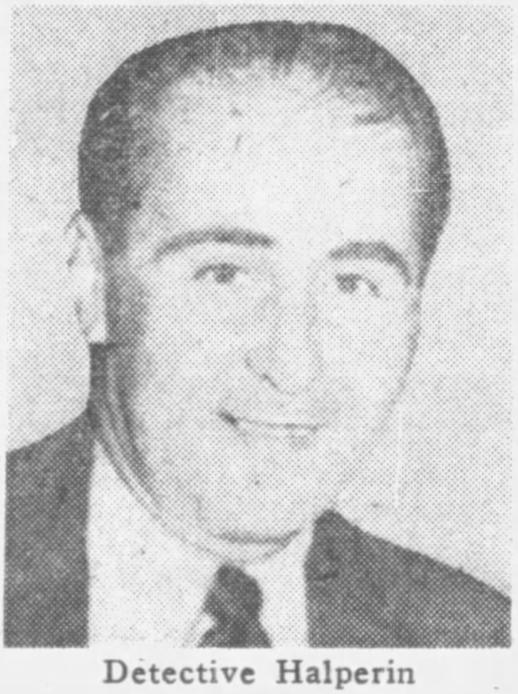 Detective Bernard L. Halperin | Chicago Police Department, Illinois