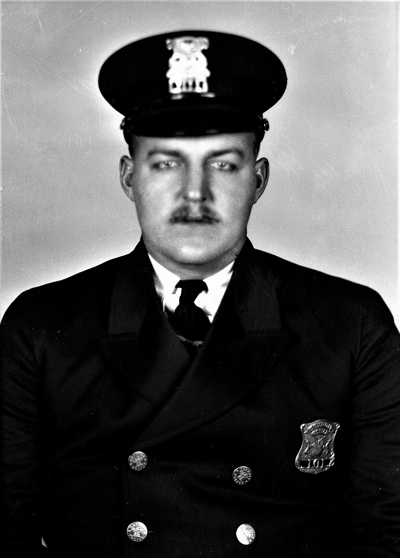 Police Officer Clarence J. Hans   Detroit Police Department, Michigan