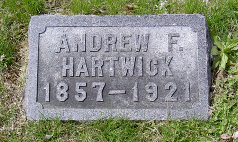 Park Policeman Andrew Frederick Hartwick | Topeka City Park Police Department, Kansas