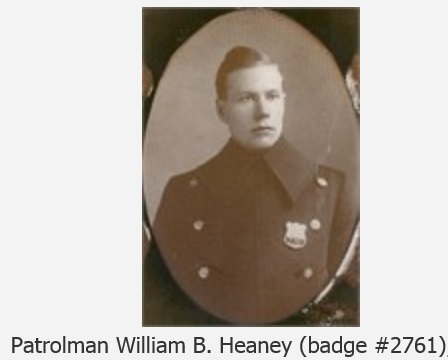 Probationary Patrolman William B. Heaney | New York City Police Department, New York