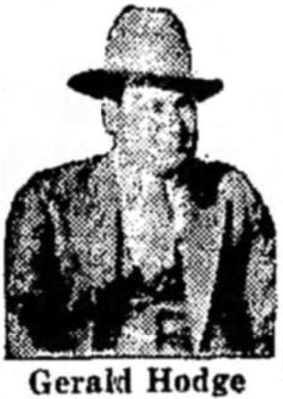 Deputy Sheriff Gerald Orvin Hodge   Ottawa County Sheriff's Office, Oklahoma