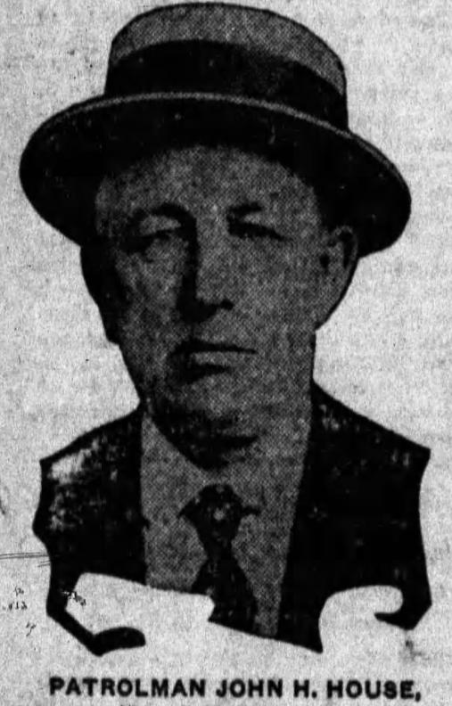 Patrolman John H. House | St. Joseph Police Department, Missouri