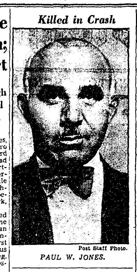 Detective Sergeant Paul W. Jones | Metropolitan Police Department, District of Columbia
