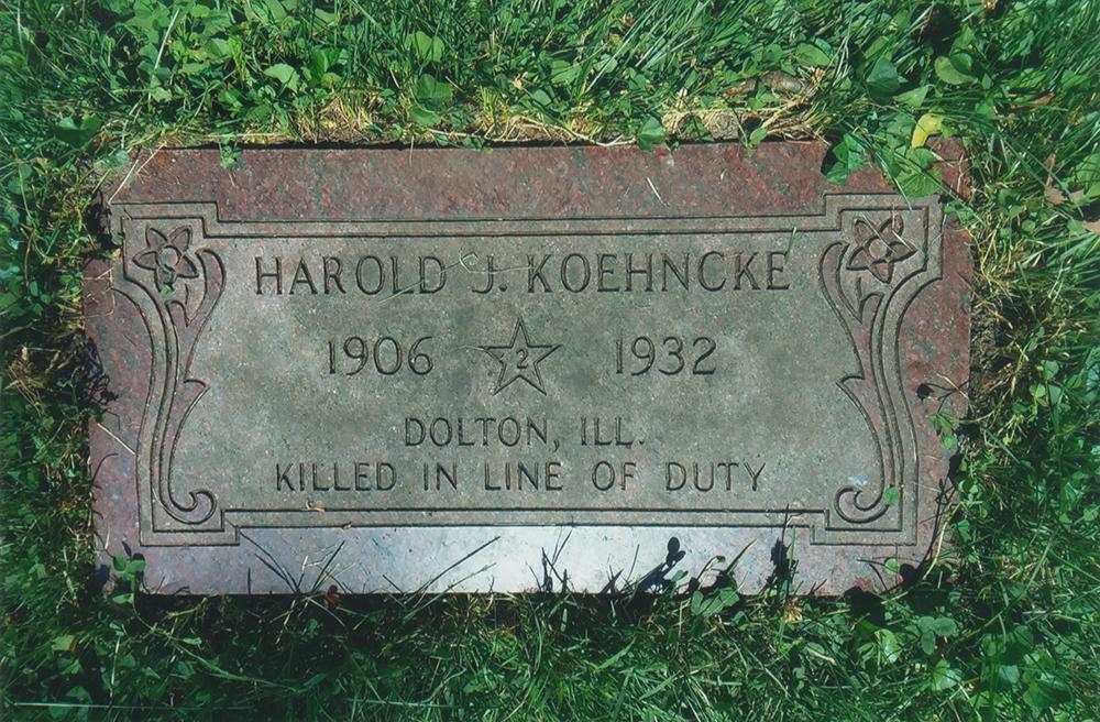 Officer Harold J. Koehncke | Dolton Police Department, Illinois