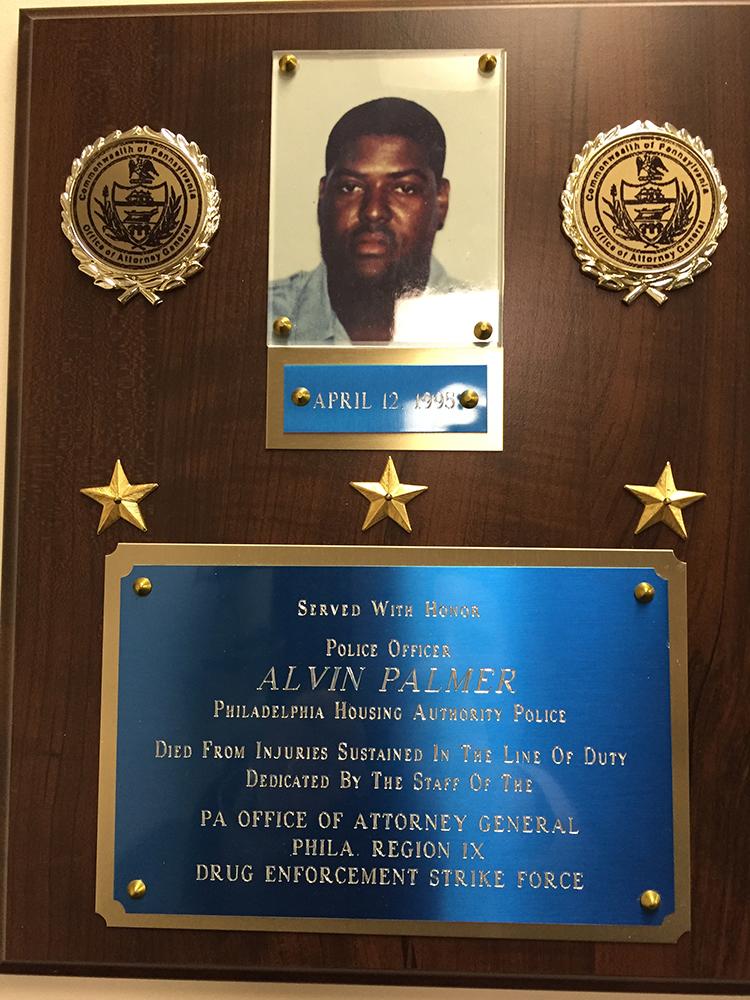 Police Officer Alvin Clayton Palmer | Philadelphia Housing Authority Police Department, Pennsylvania