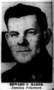 Patrolman Edward F. Maher | New York City Police Department, New York