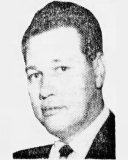 Chief of Police Walter Eugene Markel   Ironton Police Department, Ohio