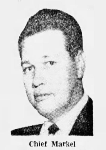Chief of Police Walter Eugene Markel | Ironton Police Department, Ohio