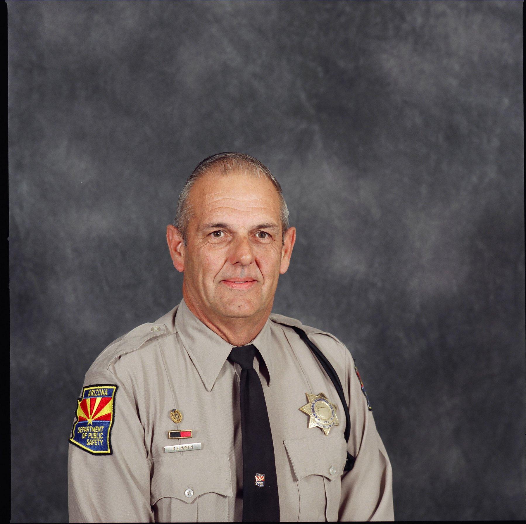 Officer Robert K. Martin   Arizona Department of Public Safety, Arizona