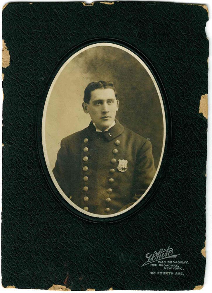 Sergeant Matthew McCormick   New York City Police Department, New York