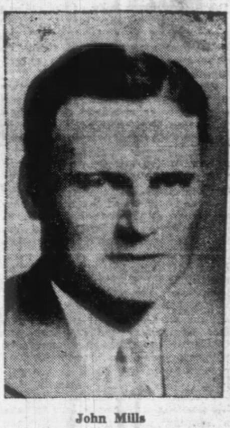 Patrolman John E. Mills   Kingsport Police Department, Tennessee