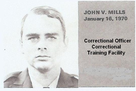 Officer John V. Mills | California Department of Corrections and Rehabilitation, California