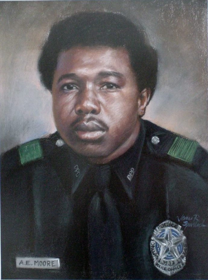 Officer Alvin E. Moore | Dallas Police Department, Texas